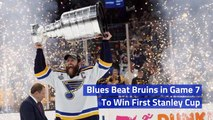 St. Louis Blues Take The Stanley Cup In Historic Win