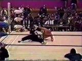 Great Sasuke vs Jinsei Shinzaki Michinoku Pro April 29th, 1994