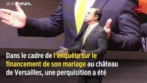Mariage au château de Versailles : perquisition au domicile de Carlos Ghosn