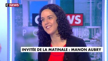 Manon Aubry - CNews vendredi 14 juin 2019