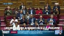 Président Magnien ! : Les sénateurs acerbes face à Édouard Philippe – 14/06