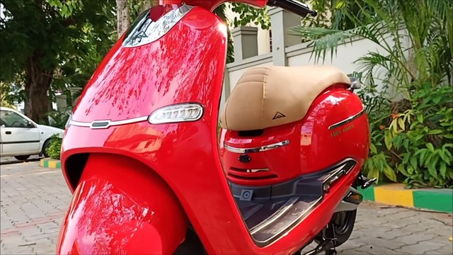 Retrosa Electric Scooter Full Review and Price in India - Avera Motors