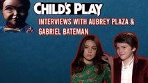 Interview: Aubrey Plaza - Gabriel Bateman - Child's 's Play
