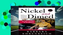 Nickel and Dimed: On (Not) Getting by in America Complete