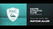 Saison 2018/2019 : tous les buts du HAC des matchs aller