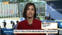 EU Finance Ministers Step Up Pressure on Italy