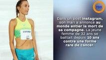Une athlète de haut niveau court jusqu'à son dernier souffle !