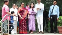 Esha Deol with Baby Girl Miraya Discharged From Hospital