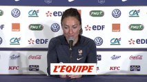 Thiney «On doit monter en puissance» - Foot - Bleues