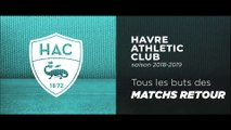 Saison 2018/2019 : tous les buts du HAC des matchs retour