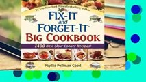 """Fix-It and Forget-It Big Cookbook: 1400 Best Slow Cooker Recipes! Plus """"Special Holiday Dishes"""""""