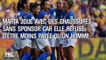 Coupe du monde (F) : Le geste fort de la Brésilienne Marta pour l'égalité hommes-femmes