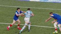 Argentina beat reigning champions France