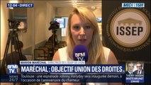 """Marion Maréchal: """"Je ne parle pas d'union, synonyme de fusion, mais d'alliance"""" des droites"""
