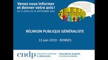 Débat public PNGMDR - Réunion publique - Rennes- 13 juin 2019 - Partie 4