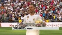 La présentation d'Eden Hazard au Real Madrid