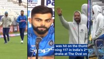 ICC Cricket World Cup 2019 : Kohli Reveals Why India Did Not Replace Injured Shikhar Dhawan