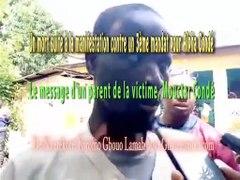 Mouctar Conde tue lors de la manifestation contre