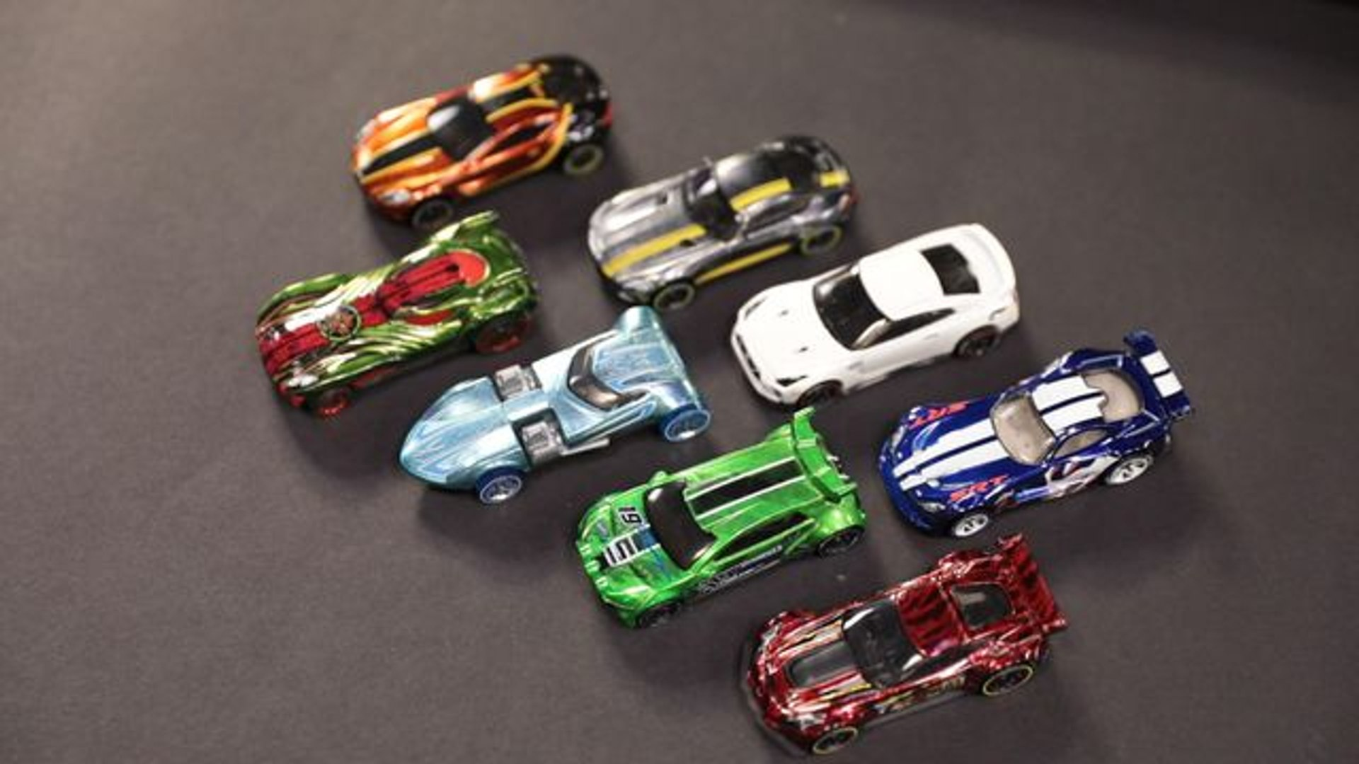 Test driving the new Hot Wheels ID smart cars