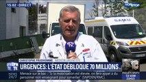 """70 millions d'euros débloqués pour les urgences: pour Christophe Prudhomme, """"c'est un premier geste mais on est loin du compte"""""""