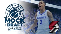 2019 NBA Mock Draft - Blazers select Keldon Johnson with No. 25 Pick