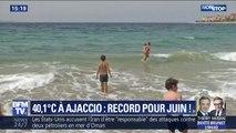 40,1°C à Ajaccio, la Corse connaît un véritable record de chaleur ce vendredi