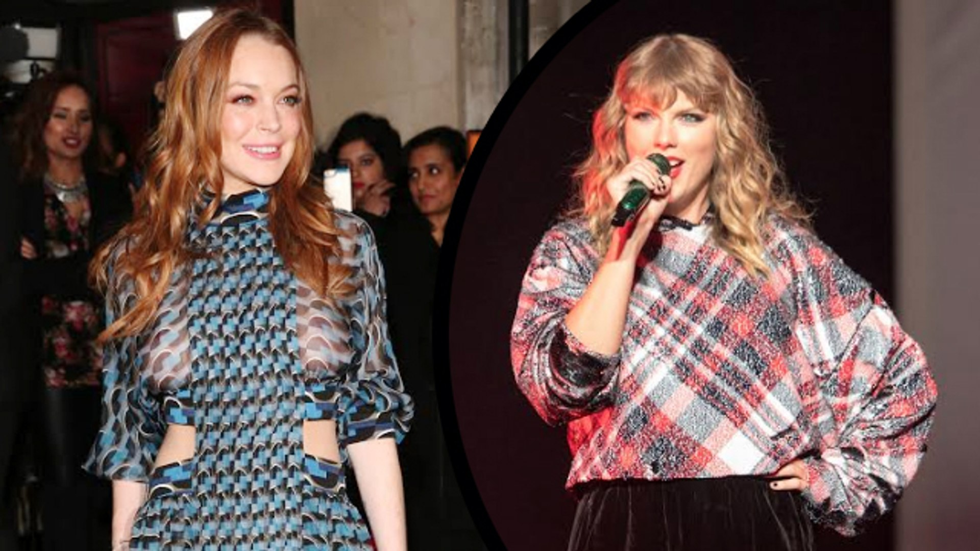WHAT! Lindsay Lohan Begs For Taylor Swift's Attention During Live Stream!