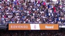Eden Hazard au Bernabeu devant les supporters du Real !