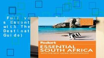 Full version  Fodor s Essential South Africa: with The Best Safari Destinations (Travel Guide)