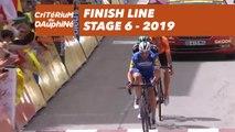 Finish Line - Étape 6 / Stage 6 - Critérium du Dauphiné 2019