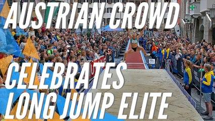 Long jump star Echevarria impresses Austrian crowd   Best of Long Jump Golden Roof Challenge 2019, Innsbruck (AUT)