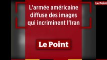 L'armée américaine diffuse des images incriminant l'Iran dans l'attaque de pétroliers