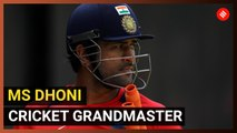 MS Dhoni is a grandmaster of cricket
