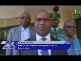 RTB/Visite du Ministre des affaires étrangères à l'ambassade du Burkina Faso à Abuja