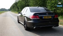 604HP Mercedes Benz E Class E500 4.7 V8 BiTurbo EPC Tuning LOUD! Exhaust SOUND by AutoTopNL