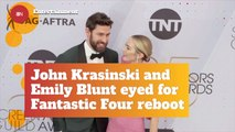 John Krasinski And Emily Blunt Could Be Superheroes