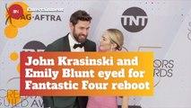 John Krasinski And Emily Blunt Could Be Superheroes