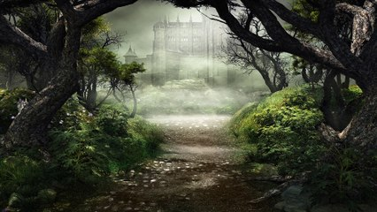 Peaceful Celtic Music: The Hiding Place - 4K - Tranquil Woodland Music, Forest Music & Fantasy Music