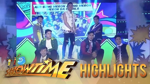 Rayt Carreon together with Hashtag performs 'Ano Bang Meron' | It's Showtime