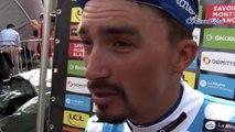 """Critérium du Dauphiné 2019 - Julian Alaphilippe : """"Je vais récupérer (...) le maillot à pois c'est un petit bonus"""""""