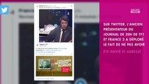 Bruno Masure : absent des 70 ans du JT de France 2, il s'agace sur Twitter