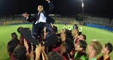 Türk antrenör Tuğberk Tanrıvermiş, Roma'nın genç takımını şampiyonluğa taşıdı
