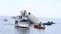 Video | Edirne'de dalış turizmi için Airbus A330 uçağı denize batırıldı
