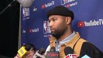 DeMarcus Cousins calls Raptors fans 'trash' for cheering Kevin Durant's injury - 2019 NBA Finals