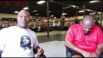 Evander Holyfield & Riddick Bowe Talk Anthony Joshua vs Andy Ruiz - The Fight Guys