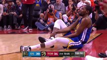 Kevin Durant goes down, Warriors hold off Raptors to force Game 6 - 2019 NBA Finals Highlights