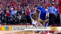Kevin Durant tore his Achilles, and the whole NBA changed - Rachel Nichols - The Jump