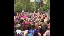 Des centaines de milliers de femmes ont fait grève en Suisse pour défendre leurs droits et réclamer l'égalité salariale