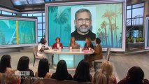 The Talk - Jennifer Aniston Says 'silver fox' Steve Carell Was Secret Crush on Set