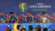 Scaloni jokes with retirement if he wins Copa America